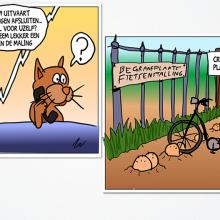 Uitvaart cartoons