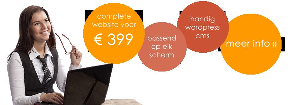Laat uw website maken voor een betaalbaar tarief!