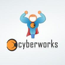 Logo en mascotte Cyberworks